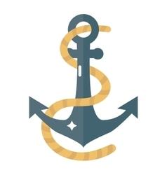 Anchor symbol icon vector image