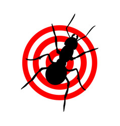 Ant protection concept vector