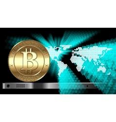Bitcoin Concept vector
