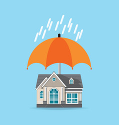 house insurance concept isolated on background vector image