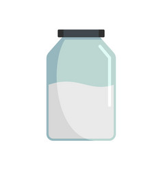 jar icon flat style vector image
