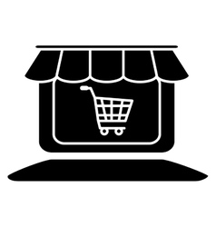 store shop icon image vector image