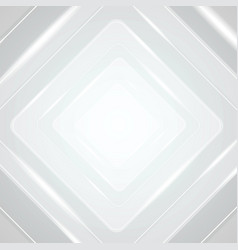 light grey blue geometric squares vector image