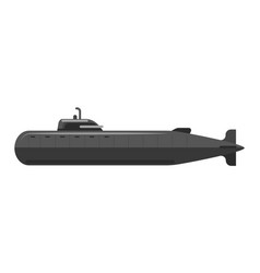special military underwater transport in vector image