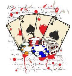 Game casino vector