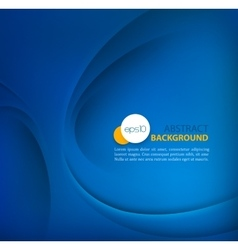 Blue template abstract background vector