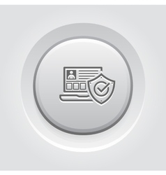 Personal Security Icon vector image
