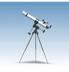 Telescope Realistic vector