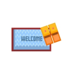 Threshols Welcoming Carpet vector