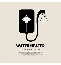 Water Heater vector image