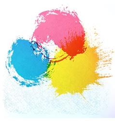 Watercolor vector image vector image
