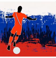 Football Russia vector image vector image