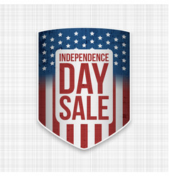 independence day sale usa national banner vector image vector image