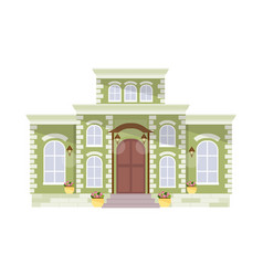 Big mansion vector