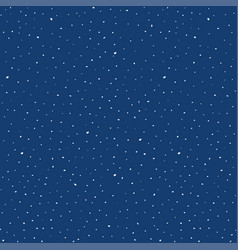 cosmic space pattern with stars night starry sky vector image