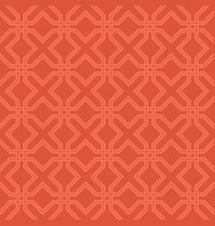 cross line seamless pattern vector image