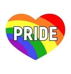 Gay pride LGBT rights card vector