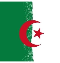 Grunge Algeria Flag vector