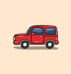 jeep car vector image
