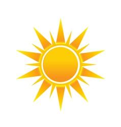 Shinny Sun image logo icon vector image
