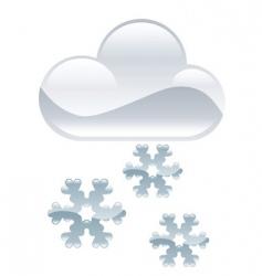snow illustration vector image