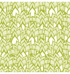 Spring pattern with handdrawn flowers vector image vector image