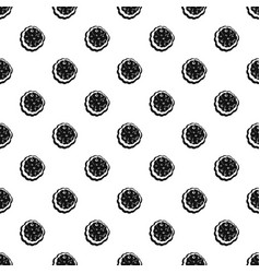 tasty cream pattern seamless vector image