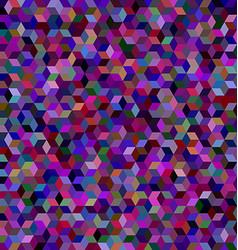 Dark 3d cube mosaic background design vector