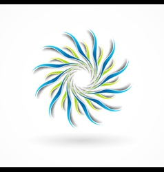 Abstract sign vector image vector image
