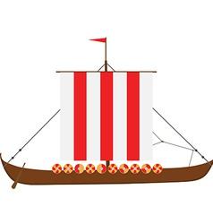 Drakkar vector image
