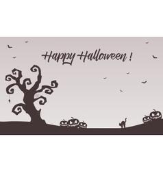 Halloween backgrounds pumpkins cat bat vector