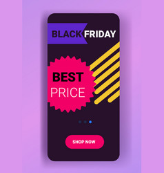 big sale template black friday banner special vector image