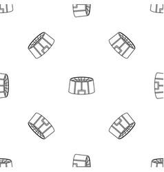 big sport arena pattern seamless vector image