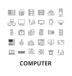 computer laptop computer screen technology vector image
