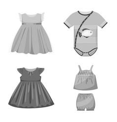 Design cloth and apparel symbol set of vector