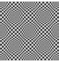 Design seamless square volumetric pattern vector