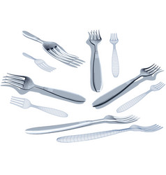 Fork set vector