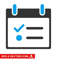 Todo List Calendar Day Eps Icon vector