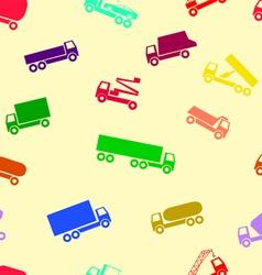 car wallpaper seamless vector image vector image
