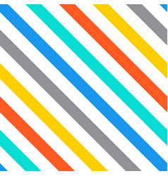 Diagonal stripes seamless pattern vector