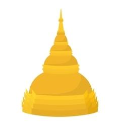 Dome icon cartoon style vector