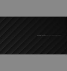 oblique lines 3d blurred effect dark gray vector image