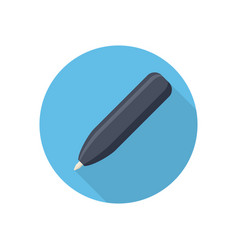 pen colored icon vector image