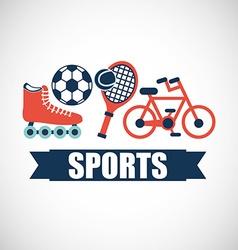 Sport club design vector