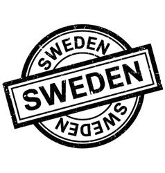 Sweden rubber stamp vector