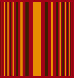 vertical orange and red stripes print vector image