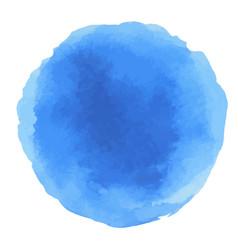 abstract watercolor blue dots vector image