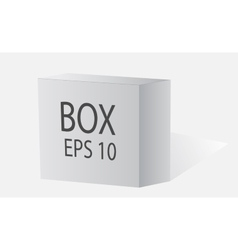 Big white box vector image