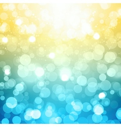 Blurred Festive Background vector image