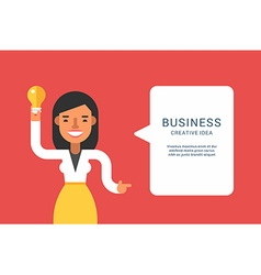 Business Concepts with Businessman Cartoon vector image